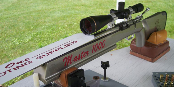 "Master 1000 Stock - ""Designed for Long Range Shooting"""